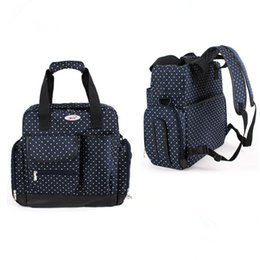 Wholesale Mother Bag Mummy - Popular Luxury Brand Nappy Diaper Backpack for Mom,Mummy Changing Backpack Mother,Mother Baby Bag Backpack,Red,Black,Dark Blue