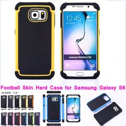 Wholesale S4 Mini Tpu - contrast color Heavy duty case for Samsung S6 s6edge S5 S4 S3mini S5 mini Note 4 shockproof tough Hybrid back cover wholesale