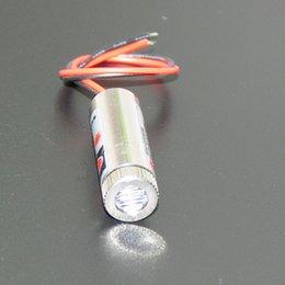 Wholesale Line Laser Diode Module - Wholesale-650nm 5mW Red Laser Diodes Line Module Board Focus Adjustable Laser Head Unit 5V Lasermodul Industrial Grade
