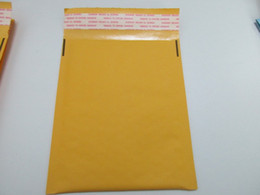 Wholesale Kraft Stocks - Hot Sale Yellow Bubble Envelope Wrap Bag Pouches Packaging PE Bubble Bags Kraft Bubble Mailers Pad 160*140+40mm In Stocked