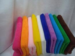 toalla rosa de gimnasia Rebajas 5 PCS nuevas toallas de microfibra llegada súper absorbente toalla cabello seco paño de limpieza automática de toallas polvo toalla de limpieza limpie 30x60cm coche