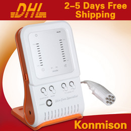 Wholesale Facial Equipment For Home Use - Portable Home Use Radio Frequency Facial Machine RF Beauty Equipment For Wrinkle Removal Skin Rejuvenation DHL Free Shipping