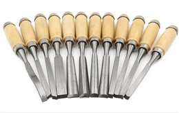 Wholesale Wood Parting Tool - Professional Wood Carving Chisel Set - 12 Piece Sharp Woodworking Tools w  Carrying Case - Great for Beginners by Tuma Crafts