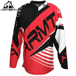 Wholesale Dh Sports - 2017 DH Enduro New Arrival Quik Dry Downhill MTB Racing Mens Sport wear Bike Jersey Motocross Jersey 2 colors
