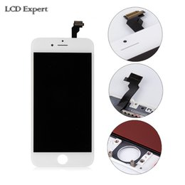 "Wholesale lcd spare parts - Wholesale-100% Brand New with Grade AAA Quality For imobile phone spare parts For iphone 6 4.7"" LCD digitizer(Black color)"