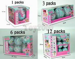 Wholesale Action Hands - Girls Dolls LOL Surprise Lil Sisters Series 1 Lets be Friends Action Figures Toys Baby Doll with retail box Kids Gifts