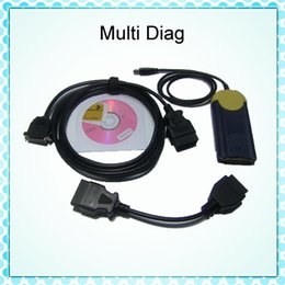 Wholesale Multidiag Access J2534 - Hot Selling High Quality Multi-Diag Access J2534 OBD2 Device Multidiag Tester v2011 with DHL Free Shipping