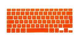 Wholesale Keyboards Azerty - Wholesale-1pcs Fr French AZERTY Keyboard Skin Film For Macbook Mac Book Pro Retina 13 15 EU Europe Version Silicone Laptop Keyoboard Cover