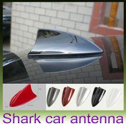 Wholesale Dummy Antenna - 1Pc Universal Fit Car Shark Fin Dummy Style Antena Aerials Decoration for BMW Cadillac VW  Ford Style Antenna Decoration