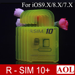Wholesale used sprint - Newest Rsim10+ R-SIM 10+ R SIM 10plus Unlock Card for iphone 6 6s plus 5s iOS9.X-7.X SPRINT SB AU direct use