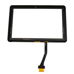 """Wholesale Galaxy Tape - Touch Screen Digitizer Glass Lens with Tape for Samsung Galaxy Tablet 10.1"""" Tab P7500 P7510 free Shipping"""