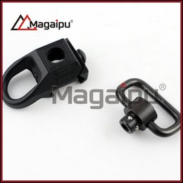 Wholesale Qd Swivel Mount - A Set Rail Sling Attachment Sling Mount Black Picatinny New Rail Mounted Quick Release Detach QD Sling Attachment with Swivel Base
