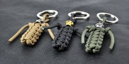 Wholesale Skull Paracord - Wholesale-paracord., paracord key skull pendant drop backpack,Knife drop