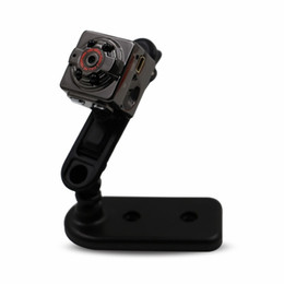Wholesale mini spy digital voice recorder - FulL HD 1080P Sport Spy Mini Camera SQ8 Mini DV Voice Video Recorder Infrared Night Vision 720P Digital Small Cam Hidden Camcorder 40pc lot