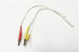 Canada 100 pcs Clip tieline Plomb Câble Acupuncture Aiguilles Clip pour SDZ-II Électronique Acupuncture Traitement Instrument Hwato Machine Offre