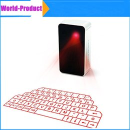 Wholesale Wholesale Laser Keyboard - 2015 Bluetooth laser Projection Keyboard Virtual Wireless with Music Player For Samsung phone Ipad Iphone6 6plus 6s Laser free DHL 002903
