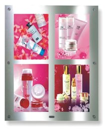 Wholesale Led Panle - LED crystal mirror light box single side panle signs A3 size signage