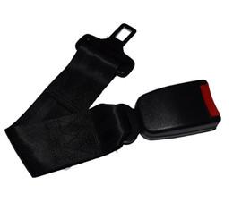 Wholesale Car Seat Belt Extender - High Quality Car Vehicle Seat Belt Extension Extender Strap Safety Buckle Black Extended Belts Baby Seat Belt 100pcs DHL Free
