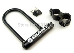 Wholesale Electric Lock Motorcycle - Wholesale-Giant overstretches u lock giant bicycle mountain bike lock electric bicycle lock motorcycle lock