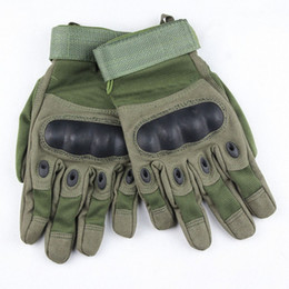Wholesale Military Hunting - free shipping new sale Outdoor Sports Army Military Tactical Airsoft Hunting Cycling Bike Gloves full Finger Gloves 3 color