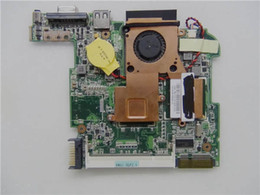 asus motherboard laptop Coupons - Wholesale-LAPTOP MOTHERBOARD for ASUS EEE PC 1005HA 1001ha INTEL DDR2 SLB73 INTEGRATED DDR2