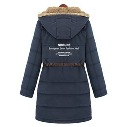 Wholesale Outdoor Dl Free - Wholesale-Free Shipping 2015 Outdoor Wear Jackets Cotton Warm Coat Women Winter Coats Women Winter Clothing Hot DL 85
