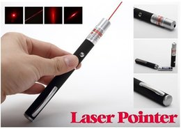 Wholesale Stylish Pens - RED laser pointer New Stylish 650nm Light Pen Lazer 5mW High Power Beam Pointer Cat Play Toy Pen