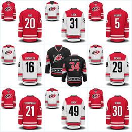 66308554d Youth Carolina Hurricaness 27 Justin Faulk 28 Alexander Semin 31 Eddie Lack  34 Phil Di Giuseppe 42 Joakim Nordstrom Hockey Jerseys