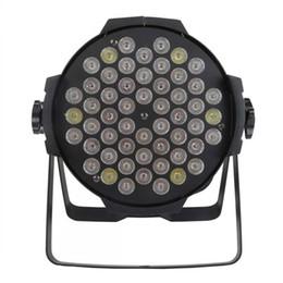 Wholesale 54 Led Par Lights - 4pcs lot Constant Current 54*3w RGBW Led Par Light  Dmx Stage Light Par Cans Light(tacitly approve Black Color Shell)