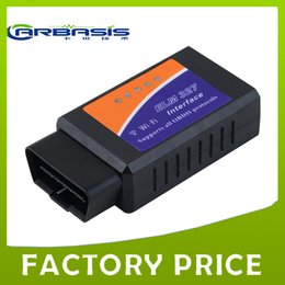 Wholesale Car Android Skoda - ELM327 OBD II Auto Scan Tool with Wifi Car Diagnostic Tool OBDII Code Reader Supports Android and For iOS with Free Shipping