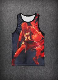 Wholesale Galaxy Tank Tops For Men - 2015 Summer tops Galaxy female men Zombie Resident Evil Terror Basketball Shark Abstract tanks 3D Printing Vest for Women