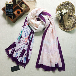 Wholesale Cotton Scarves China - Wholesale-China Silk World ! Women's fashion twill cotton hijab scarf   brand cotton scarves   cotton blending shawl