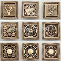 Superb Free Shipping Wholesale And Retail Antique Brass 12CM Decorative Floor  Waste Drainer 4.7 Inch Floor Register Drain Cover 1 Pc 1001#01