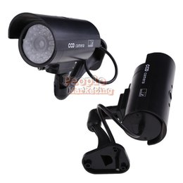 Wholesale Security Cam Dummy - Outdoor Indoor Fake Surveillance Security Dummy Camera Night CAM LED Light P4PM