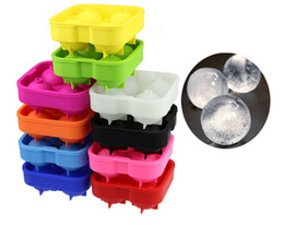 Wholesale Silicone Ice Cube Trays Wholesale - Ice Cube Ball Tray Brick Round Maker Mold Sphere Mould Party Bar