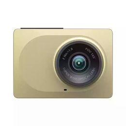 Wholesale Night Version Camera - 10pc DHL [English Version] Original Xiaomi YI Smart Car DVR 1080P 60fps Dash Camera 2.7inch 165 Degree Angle ADAS 2.4G WiFi