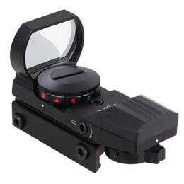 Wholesale Red Dot Sight Picatinny - Holographic 11mm or 20mm Picatinny Weaver Rail 4 Type Reticle Red Green Dot Sight Scope