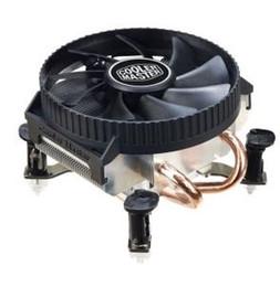 Wholesale Intel Cpu 1155 - CoolerMaster one 9cm fan 2 heatpipes slim CPU cooler SHARK V200 (LIESHA V200) RR-UAH-L9C7 for LGA1156 1155 1150 775