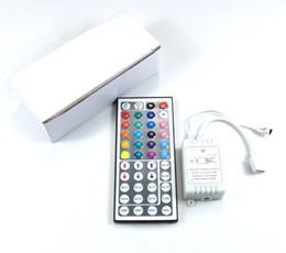 Wholesale Controller Rgb 24 - 3528 5050 5630SMD LED Strip light 24 44 Keys IR Remote Controller for RGB SMD string Lights DC12V