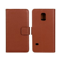 Wholesale S4 Mini Pink Case - GENUINE Wallet Credit Card Stand Leather Case For samsung S4 MINI S5 MINI A310 A510 Ace 4 LTE G357 Grand Prime G530 J5 Trend Lite S7390 100P