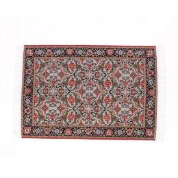 Wholesale girls rugs - Wholesale- 1:12 Dollhouse Miniature Floor Rug Carpet for Interior Modelling---24 x 15.3cm