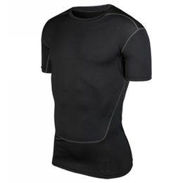 Canada Sous-vêtements de compression hommes Tee Shirts Collection Sport Tops Athletic Tops New S-XXL Offre