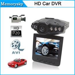 "Wholesale Camera Road Video - New 2.5"" Camcorder LCD 120 dgree HD Car DVR Road Dash Video Camera Recorder Cycle Record Motion Detect Night Vision 111180C"