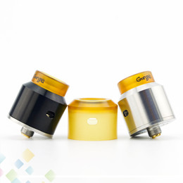 Wholesale Electronic Cigarette Refill Atomizer - Original Advken Gorge RDA Electronic Cigarette Vape Tank Rebuildable Dripping Atomizer Bottom Refilling Design Ecig DHL Free