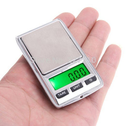 Wholesale Mini Scales For Sale - Wholesale-Home gadget tools 100gx0.01g Mini Jewelry Pocket Digital Scale portable Pocket High precision Electronic scales gift for sales