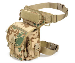 Wholesale Leg Panel - Outdoor Multifunctional Tactical Leg Panel Utility Pouch Bag SWAT Hunting Tool Waist Pack Motocycle Sports Ride Electrical package