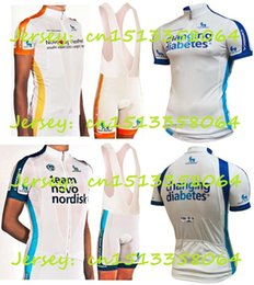 Wholesale Orbea Cycle Clothing - Wholesale-Team Novo Nordisk Cycling Jersey 2015 High quality short sleeve shorts+Bib orbea Bicycle Clothing Cycling GEL Pad ropa ciclismo