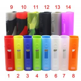 Wholesale Free E Covers - Colorful Subox Mini Silicone Cases Replacement Case Rubber Sleeve Protective Cover Fit Kangertech E Cigarette DHL Free FJ651