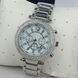 Wholesale Pink Designer Watches Women - Luxury Famous Designer Women Rhinestone watches fashion luxury Brand Dress ladies watches wholesell for Free Shipping.