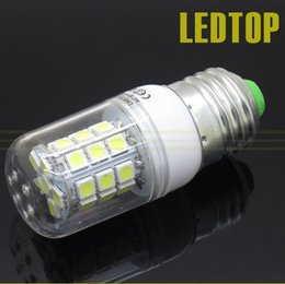 Lampe LED e27 5050 SMD 30LED E 27 Lumière de lampe de maïs Ultral lumineux 220V E27 SMD 5050Preuve de l'eau Chaud blanc / blanc 7W ? partir de fabricateur